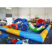 Wholesale Professional Inflatable Square Swimming Pool , Inflatable Pools For Adults from china suppliers