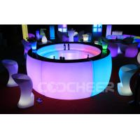 Wholesale PE Plastic Straight Led Bar Counter Light Up Pub Bar Furniture Energy Saving from china suppliers
