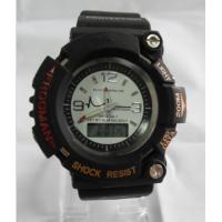 Wholesale Men Sports Analog-digital Watches 30 Meters Waterproof Construction Black from china suppliers