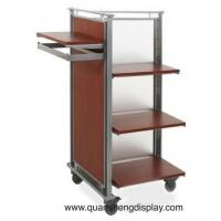 Wholesale Garment  Rack with wooden shelvings from china suppliers