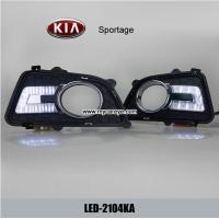 Wholesale KIA Sportage DRL LED Daytime Running Lights car led light aftermarket from china suppliers