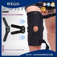 Wholesale Neoprene Adjustable Hinged Knee Support Brace Patella Strap Pain Relief from china suppliers