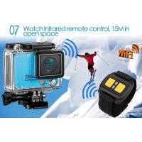Wholesale Wifi Remote Control Outdoor Sports Camera / HD Action Cameras Support Slow Motion from china suppliers