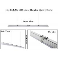 Wholesale 7800lm Linear LED Pendant Light / Linear Suspended Lighting With 42M Max Linkable from china suppliers