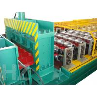 Wholesale Chain Drive Roof Panel Roll Forming Machine With Touch Screen PLC Frequency Control System from china suppliers