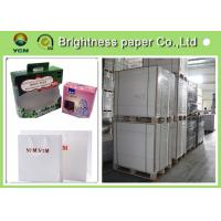 Wholesale One Side Coated Iivory Printing Paper , White Back Invitation Card Paper from china suppliers