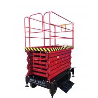Wholesale Mobile Scissor Lift With 300Kg Loading Capacity with 11m working height from china suppliers