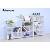 Buy cheap Modern simple collection of louver multi storey storage rack light large capacity stacks from wholesalers