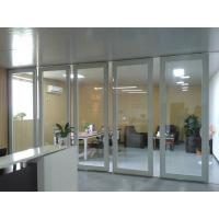 Wholesale Aluminum Sliding Doors / Collapsing Aluminum Sliding Partition Walls Easy Installation from china suppliers