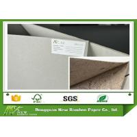 Quality ONP / OCC Material 600gsm / 1mm Grey Board Gray Cardboard Paper Sheets Hard Stiffness for sale