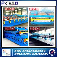 Wholesale High Precision Galvanized Sheet Floor Deck roll forming Machine Steel Structure from china suppliers