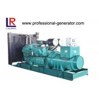 Buy cheap 800KW 3 Phase Open Diesel Generator , Water Cooling Diesel 24V DC Generator from wholesalers