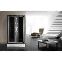 Wholesale Matt Black Profiles Corner Walk In Shower Enclosures 1200 X 900 Rectangular Grey from china suppliers