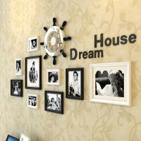Wholesale Love photo frame wall picture wall decorative 10 pcs set wooden frames with acrylic rudde from china suppliers