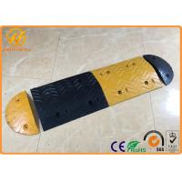 Wholesale Prefabricated Portable Rubber Parking Bumpers , Car Safety Road Concrete Speed Bumps from china suppliers