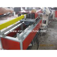 Wholesale HDPE Plastic Corrugated Pipe Extrusion Line, Flat Pipe Making Machine from china suppliers