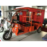 Quality 1000W Electric Open Passenger Motor Tricycle With Roof 2750*950*1200 Mm for sale