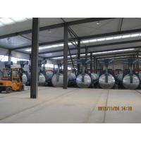 Wholesale Concrete Autoclave with hydraulic pressure door-opening and safety interlock from china suppliers