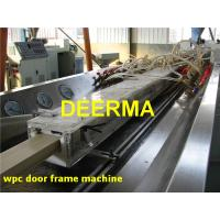 Wholesale WPC Profile Production Line Wood Plastic Composite Door Frame Machine from china suppliers