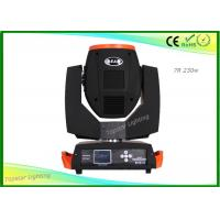 Wholesale Moving Head Stage Light , 230w 7r Sharpy Beam Moving Head AC90-240V from china suppliers