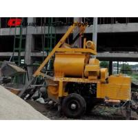 Wholesale Mobile mini self loading concrete mixer pump Small Electric JS750 from china suppliers