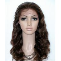 Wholesale Wet And Wavy Weave Lace Front Remy Hair Wigs , Tangle Free Hair Extensions from china suppliers