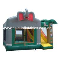 Wholesale 2012 Best Sale crazy fun indoor or outdoor commercial grade vinyl tarpaulin brand new inflatable castle combo from china suppliers