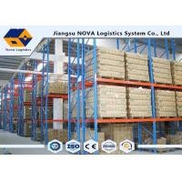 Wholesale High Capacity Storage Pallet Warehouse Racking Metal Display With Frame Barrier from china suppliers