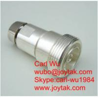 "Wholesale DIN 7/16 connector female jack 1/2"" coaxial cable antenna base station satcom DIN.K-12 from china suppliers"
