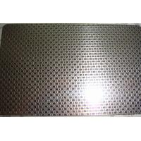 Wholesale 201 304 stainless steel sheet Linen Embossed Pattern for kitchen sink from china suppliers