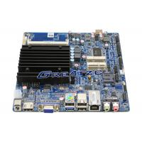 Quality Fanless Design Industrial PC Motherboard Dual Core J1800 CPU , With 2 COM Port for sale