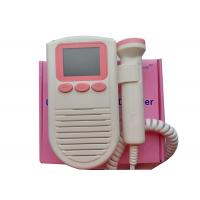 Wholesale 2Mhz Probe FD -03 Pocket Fetal Doppler Prenatal Heart Monitor Color LCD Display from china suppliers