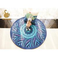 Wholesale 100% Polyester Material Round Entrance Rugs Anti Slip Without Chemical from china suppliers