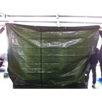 Wholesale green color 160gsm HDPE woven fabric waterproof PE tarpaulin from china suppliers