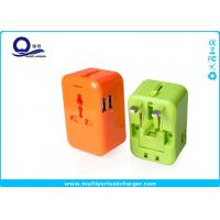 Wholesale AC Power External Usb Power Travel Adapter Dual USB Port Short Circut Protection from china suppliers