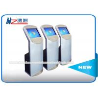 Quality 19 Inch Free Standing Touch Screen Information Kiosk With Card Reader / Printer for sale