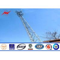 Wholesale Telecommunication High Voltage Transmission Towers Hot Dip Galvanization from china suppliers