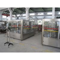 Quality Food Grade Bottled Water Filling Machine , Automatic Liquid Filling Machine for sale