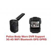 Quality Multi Purpose Body Worn Camera With Night Vision , Police Body Wearing Camera 1080 IP68 for sale