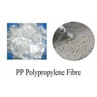 Wholesale Good Dispersing Concrete Polypropylene Fibers HS Code 3916100000 from china suppliers