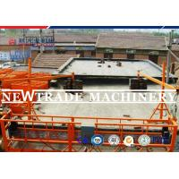 Wholesale Electric 800kg Construction Lifting Scaffolding Work Platform / Building Cradle from china suppliers