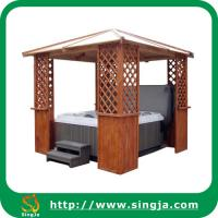Wholesale High Quality Wooden Gazebo Bath Tub(WG-09) from china suppliers