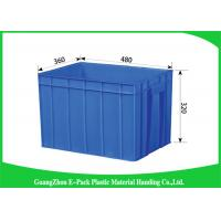 Wholesale 50L Plastic Stackable Storage Bins Space Saving , Recycle Plastic Stacking Boxes from china suppliers