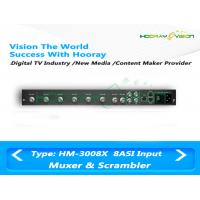 Wholesale ASI INPUT Type Digital TV Multiplexer Scrambler With DVB Stardand WEB Management from china suppliers