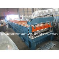 Buy cheap 440V Decking Roll Forming Machine Sheet Metal Machine 82mm dia.solid steel from wholesalers