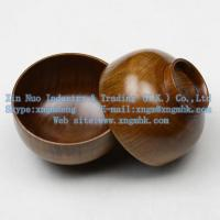 Wholesale Wooden utensils, wooden bowls, wooden bowls of rice, wooden soup bowl, wooden salad bowl from china suppliers