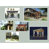 Quality WPC pergola structure for sale