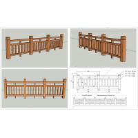 Wholesale WPC wood fence OLDA-9002 1.05m*1.65m,Wood plastic composites fencing from china suppliers