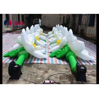 Wholesale PVC Coated Inflatable Event Decoration LED Inflatable Flowers In Wedding from china suppliers