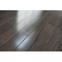 Wholesale Red oak Solid hardWood Flooring, city gray stained and UV lacquer from china suppliers